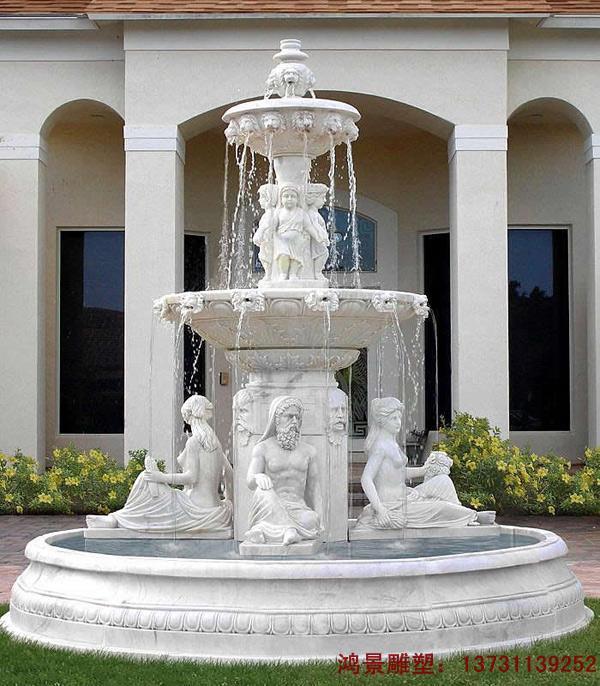 喷泉,指的是由下往上喷射出的泉水,喷泉的种类有两种:一种是石材喷泉,另一种是音乐喷泉。石家庄鸿景石雕喷泉厂家,专业制作各种石雕喷泉,大理石喷泉,音乐喷泉,喷泉水景等。喷泉一般适用于广场、小区、园林等大型场所,不仅可以来欣赏,又能净化空气。   欧式喷泉 喷泉风水球 石雕喷泉价格 石雕喷泉厂家是音乐喷泉的一种分类。石家庄鸿景不锈钢雕塑厂专业制作各种欧式喷泉 喷泉风水球 石雕喷泉价格 石雕喷泉厂家,如有需要欧式喷泉 喷泉风水球 石雕喷泉价格 石雕喷泉厂家欢迎联系我们,我们免费为您提供欧式喷泉 喷泉风水球